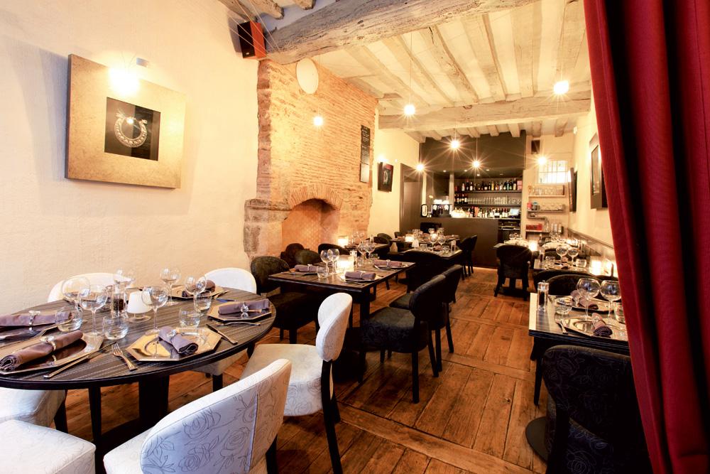 Restaurant Le Baron Rouge cusine fine Rennes