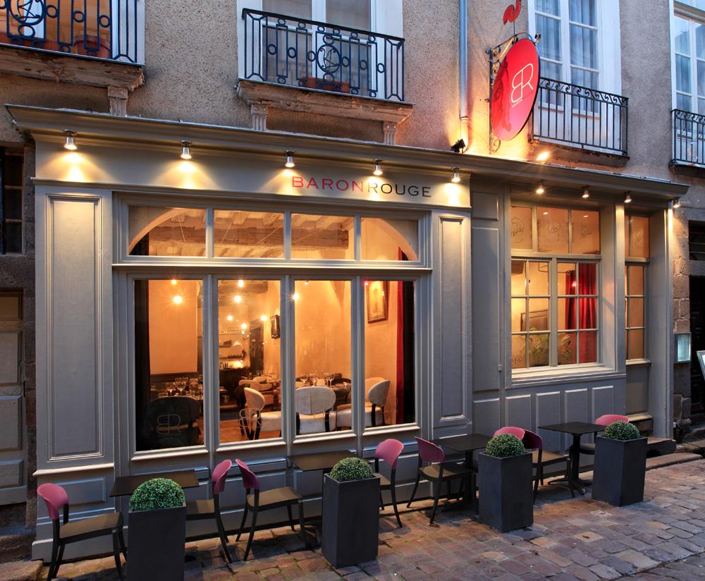 Baron Rouge restaurant Rennes