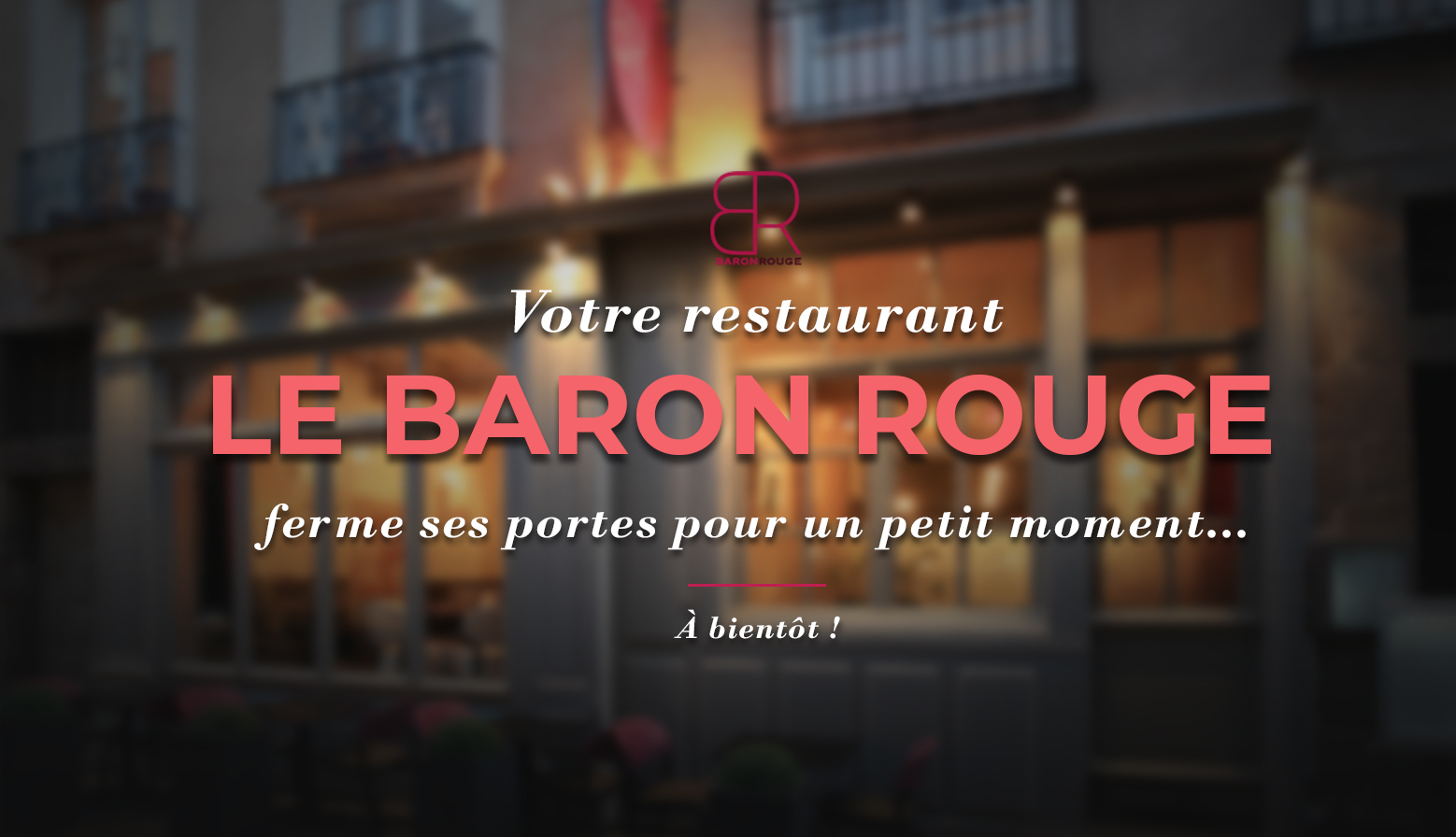 restaurant baron rouge rennes covid19